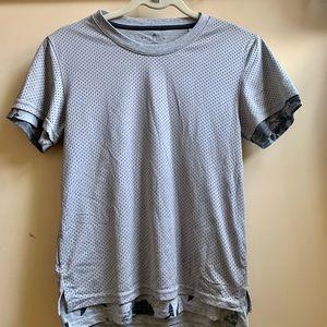 Adidas Grey Mesh T-shirt